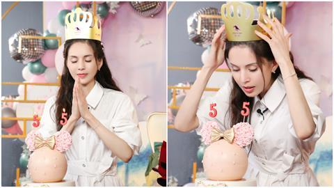 「最美小龍女」白裙慶生飄仙氣 凍齡顏值網傻眼:根本看不出55歲!