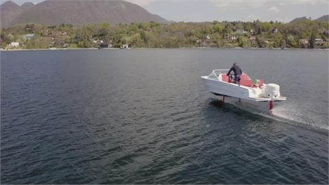 神奇電動水翼船 讓威尼斯古蹟免於尾流傷害