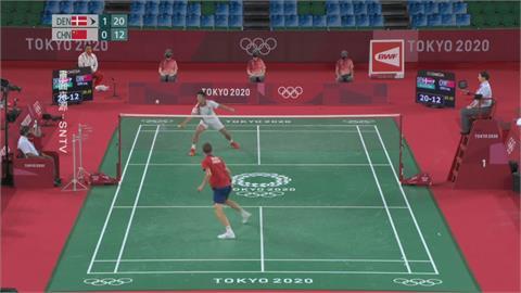 安賽龍羽球男單勝諶龍摘金 斷中國羽球20年奧運衛冕紀錄