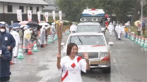 結束沖繩外島傳遞 東奧聖火回到九州熊本