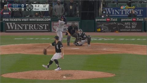 張育成歧視風波後先發!  白襪投手無安打比賽