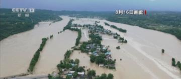 長江洪水再次形成 暴雨不斷中國淹慘