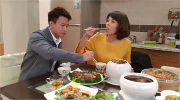 「幸福年菜」端進攝影棚 蘇晏霈、王建復吃不停