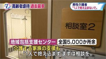 日本老人被虐案創新高 施虐者多為男照顧員