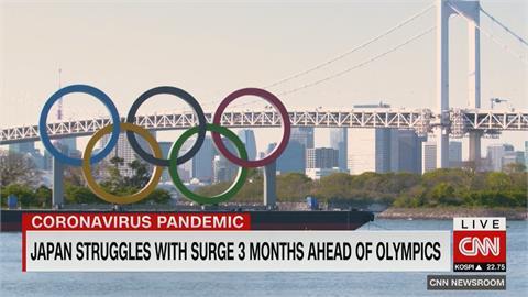 距奧運開幕剩不到3個月 日本疫苗接種僅1%