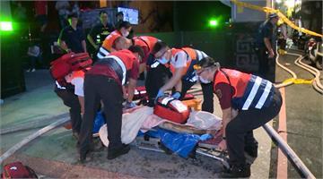 快新聞/台北萬華公寓凌晨大火 70歲男子送醫前無生命跡象經搶救仍過世