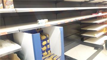 武漢肺炎/歐洲各超市貨架全空!台人驚:還是沒戴口罩