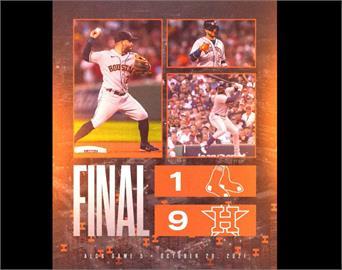 MLB/美聯冠軍賽巴爾德斯封鎖紅襪 太空人吃5分大局聽牌