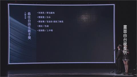 金曲獎公布入圍 田馥甄首度爭奪歌后 曹雅雯.桑部布伊各8項居冠