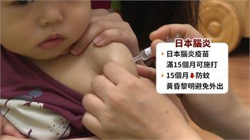 3個月大男嬰來不及打疫苗 成日本腦炎年紀最小確診者