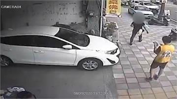 罷免王浩宇連署站遭鬧場 志工報警處理
