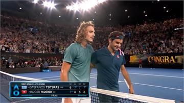 澳網三連霸夢碎 希臘新秀擊敗費德勒