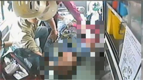 台中港碼頭工人 手臂遭夾斷送醫