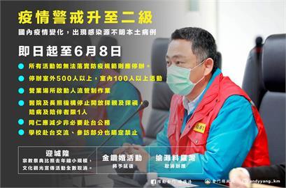 快新聞/金門縣全額補助縣民在地打疫苗 楊鎮浯:估3到4萬人受惠