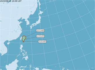 快新聞/熱帶低壓最快22日增強為「巴威」颱風 沿東部海面北上