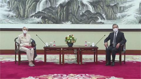給美國上一課!王毅:中國「3條底線」 台灣問題「重中之重」