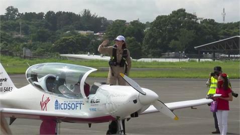 19歲少女自駕飛機環遊世界 出發20天抵哥斯大黎加