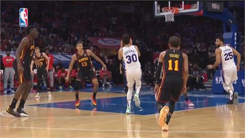 NBA/老鷹淘汰第一種子七六人 最後一戰晉東區決賽