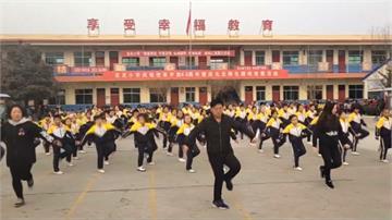 中國小學校長好會跳! 新潮舞步融入健身操