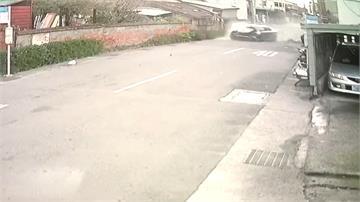 男酒駕撞路邊車輛 瞎扯「代駕開的」
