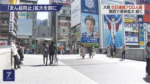 日本六都府縣 今起實施防止疫情蔓延措施