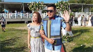 澎湖海島婚禮夯 19對新人沙灘互許終身