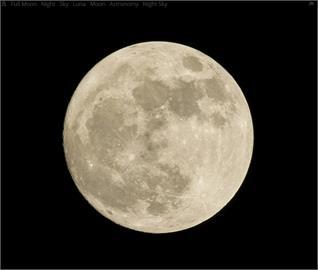 明晚迎8年來「真正滿月」!氣象局3句話曝賞月秘訣:夜越深機率越高