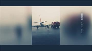 印尼獅子航空又傳意外!大雨中降落衝出跑道