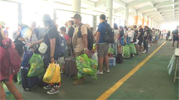 綠島垃圾壓力大 推廣帶寶特瓶回本島活動