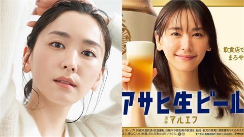 新垣結衣「轉大人」 賣萌挑戰「啤酒廣告」網讚:我再次戀愛!