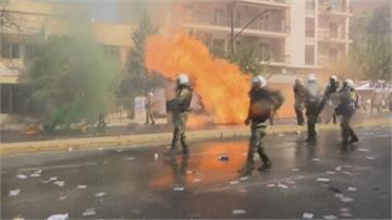 極右「金色黎明」定調犯罪組織 希臘爆發警民衝突