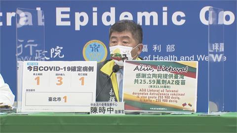 快新聞/立陶宛再贈台23.59萬劑AZ疫苗下午抵台 效期分別至10/31、11/30