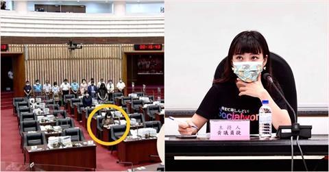 高雄市議會為「城中城」罹難者默哀1分鐘 網抓黃捷全程坐滑手機!