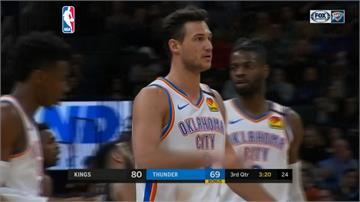 NBA/雷霆克服落後19分劣勢 逆轉奪五連勝