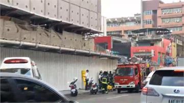 京華城拆除工程樓板坍塌 活埋1人生死未卜