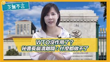 芝無不言/WTO沒作用了?秘書長崩潰離職:什麼都做不了