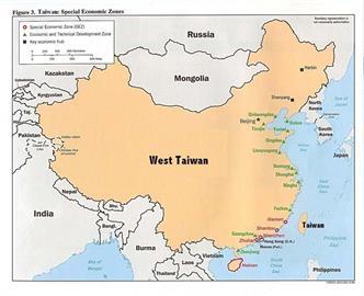 挑戰小粉紅極限!外國網友做迷因圖 讓中國成了「西台灣」!