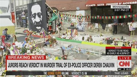 正義終於伸張!佛洛伊德案警官謀殺3項罪名成立「8周後宣布量刑」