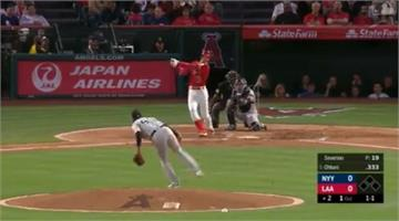 MLB/本季第4轟!大谷翔平首打席就敲陽春砲