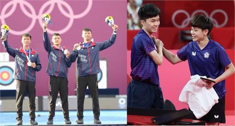 東奧/台灣代表隊「一日雙牌」! 蔡英文鼓勵所有選手:能長留心底的還包括「不屈的鬥志」