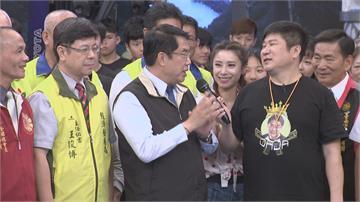 市長帶隊踢館「綜藝大集合」 黃偉哲加碼:到台南消費抽房子!