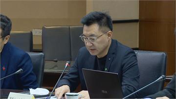 江啟臣提案「公投綁大選」聽證會雙方口水戰