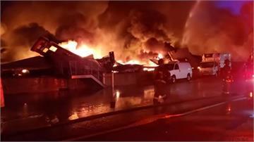 舊金山漁人碼頭發生嚴重大火!所幸無傷亡