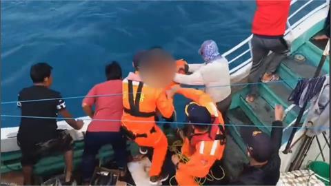 釣客驚見漁船沉沒中 急叩海巡救船長、船員