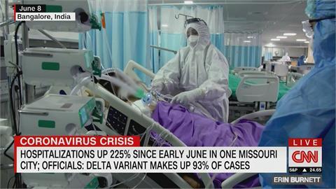Delta變種燒美國!密蘇里春田市住院率暴增225% 尚未接種疫苗年輕人佔多數