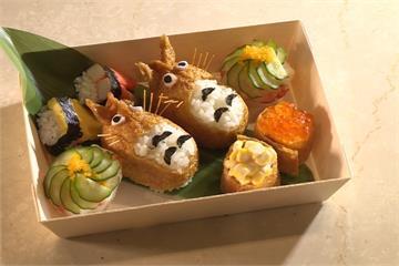 連假搶客大作戰!日式料理店推超萌龍貓壽司