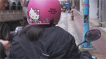 騎車被隨機攻擊 女騎士遭陌生男「巴頭」