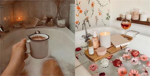 今晚泡個溫暖熱水澡!給忙碌疲勞的自己來一場專屬於妳的舒壓 BATH TIME