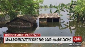 疫情失控、雨季釀嚴重水患 印度比哈爾省醫療體系近崩潰!