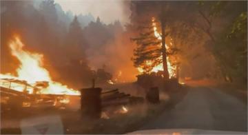 加州閃電狂劈野火越燒越大 州長向其他州及加澳等國求助